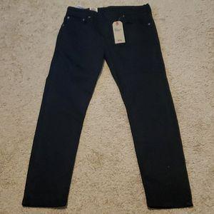 Levi's Men's 502 Regular Taper 32 x 30 Black